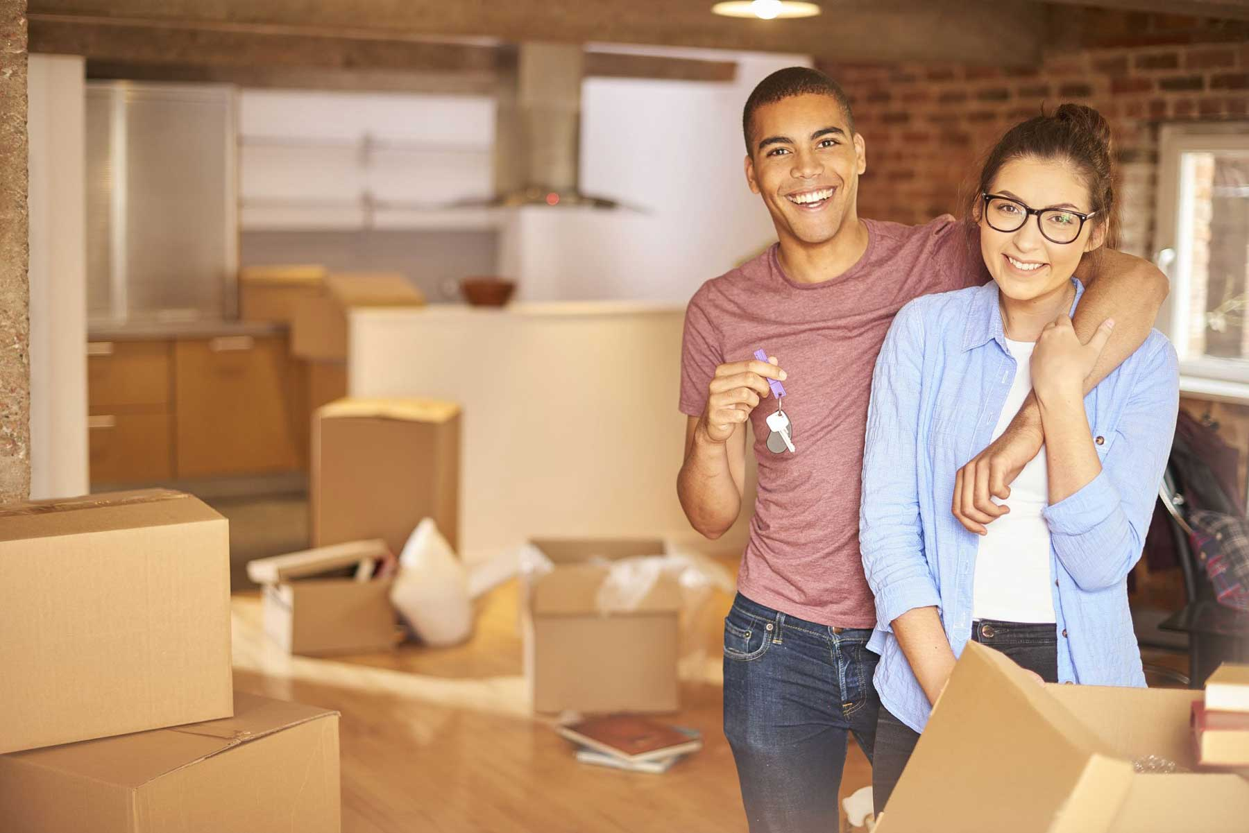 Decluttering tips for when you move in together