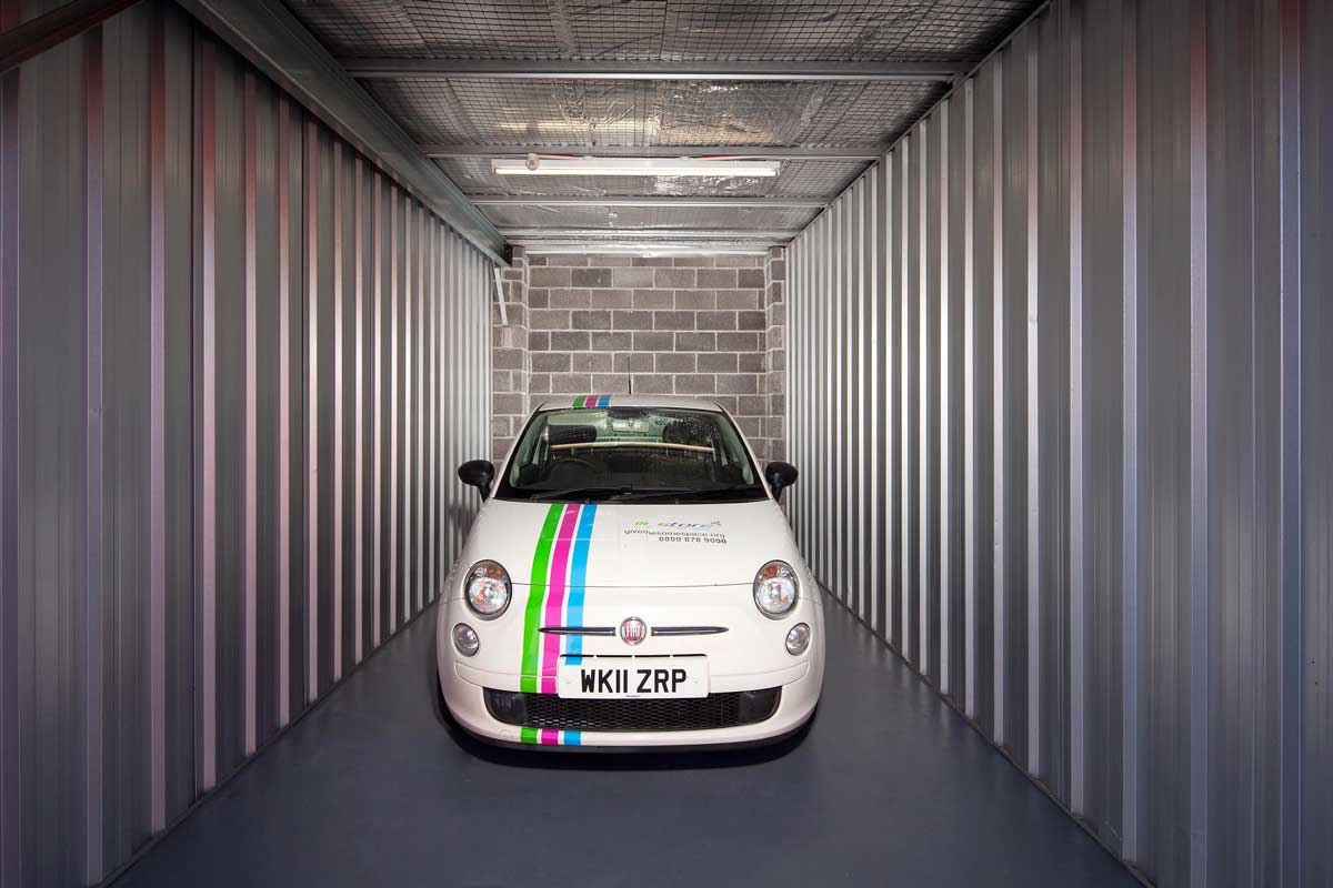 All you need to know about putting your car into storage